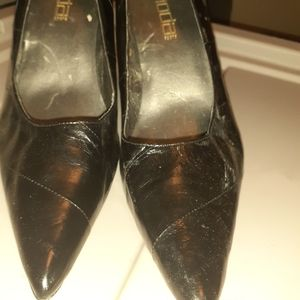 Shoes - Black Pointed toe shoes 9